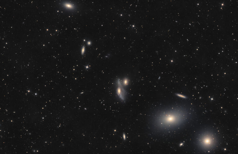 Astrofotografia sulle galassie della Catena di Markarian
