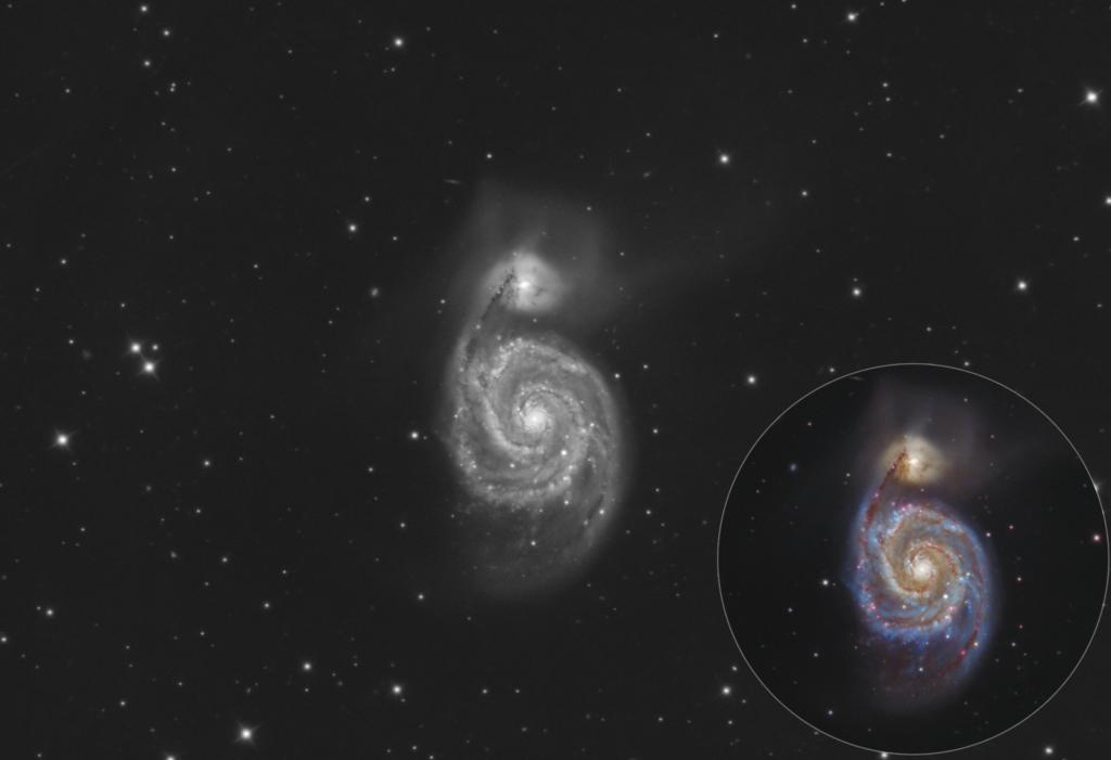 Camera astronomica mono QHY268M: prove e recensione Astrofotografia a 2000mm con il telescopio Tecnosky GSO RC10