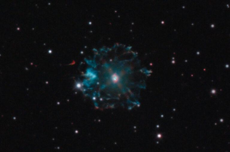Astrofotografia HDR sulla nebulosa Occhio di Gatto NGC 6543