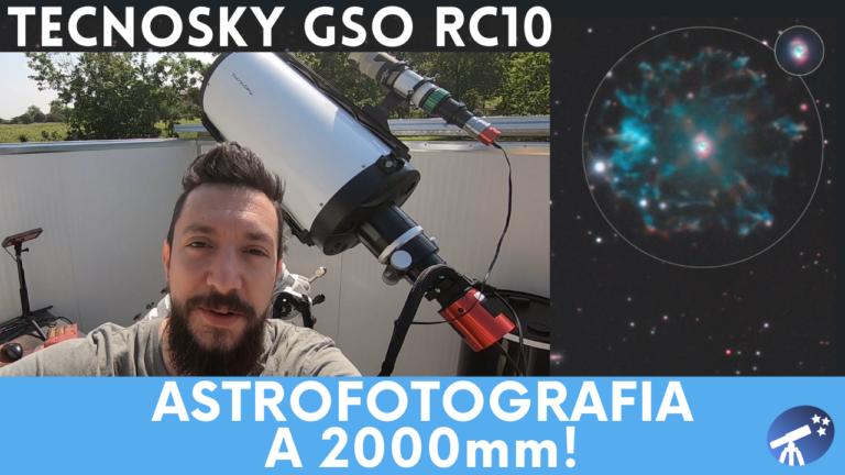 Astrofotografia a 2000mm con il telescopio Tecnosky GSO RC10