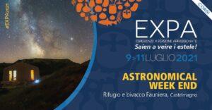 Astronomical Weekend con Ecomuseo Terra del Castelmagno