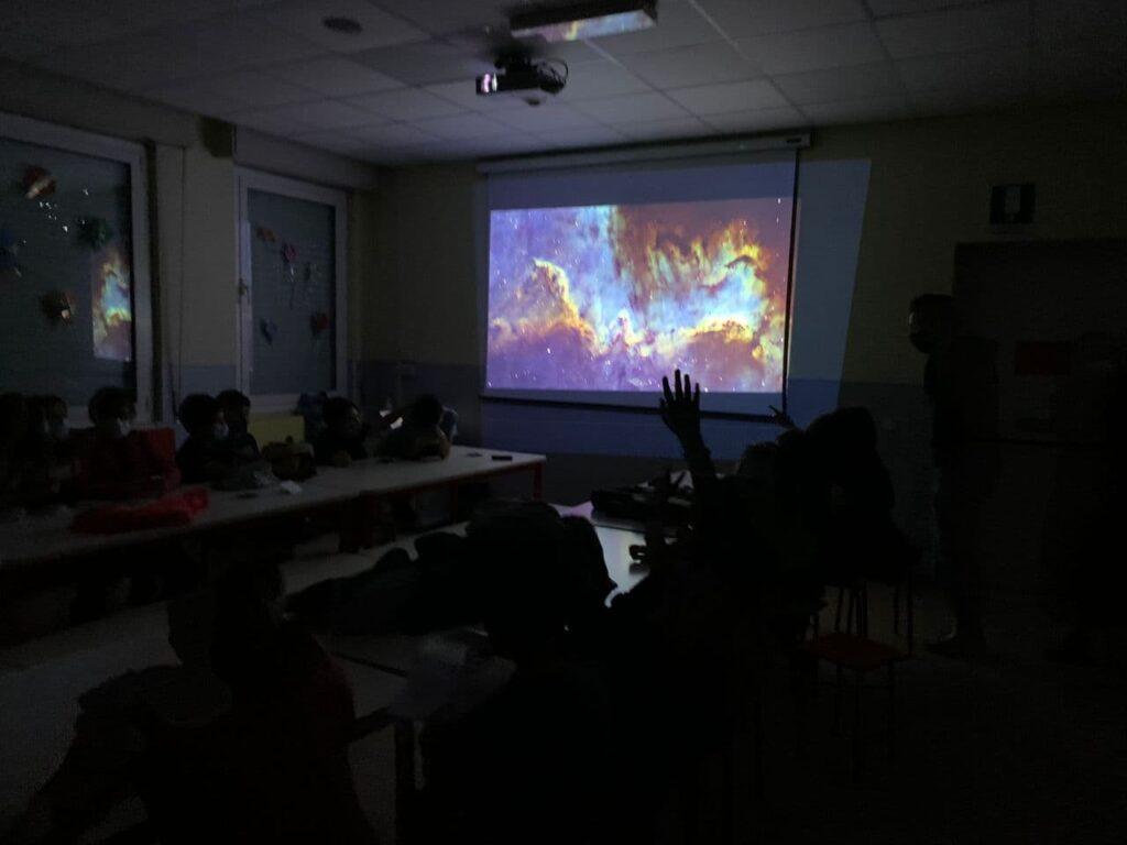 Astronomia e telescopi alla scuola Santa Dorotea di Casalgrande