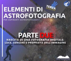 Nascita di una fotografia digitale: luce, sensori e proprietà dell'immagine