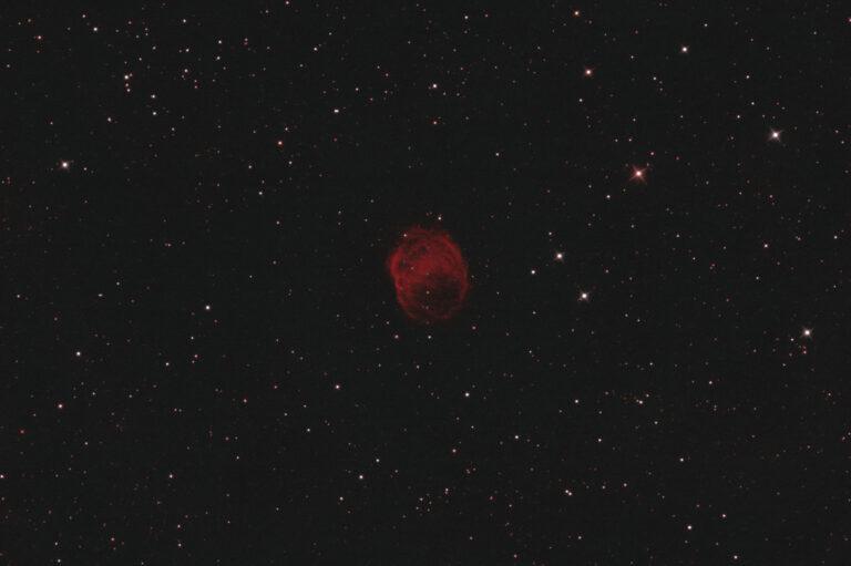 Astrofotografia sulla nebulosa planetaria PK 38+2-1 o YM 16 Nebulosa Planetaria Planetary Nebula PK 38+2.1 o 038+02.1 (YM16) bicolor HOO con Sky-Watcher 300/1200 f/4, ZWO ASI 294MM, Antlia Ha 3nm, OIII 3.5nm.