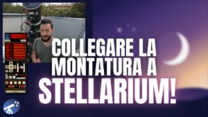 Collegare la montatura del telescopio a STELLARIUM con EQMOD